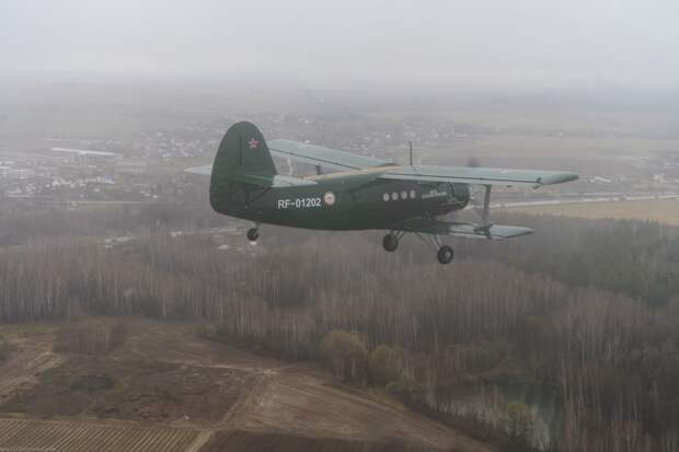 Московский АРЗ. Перегон Ан-2 ДОСААФ после КВР . Фоторепортаж.