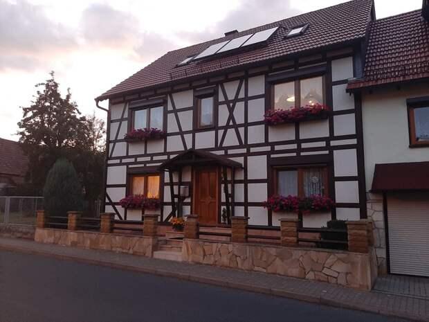 Знаете из чего сделаны эти классические немецкие дома? Германия, Дом, Длиннопост
