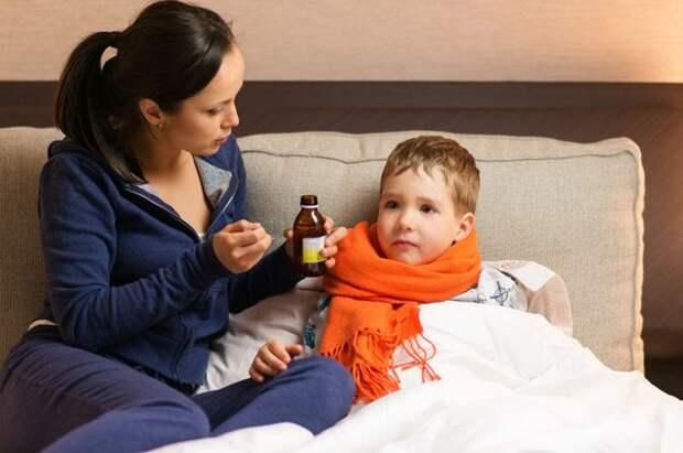 Компот от простуды. Как защитить ребёнка от гриппа и ОРЗ