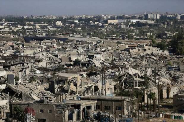 Восточная Гута — оазис раздора в предместьях Дамаска