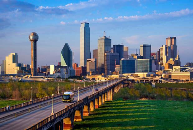Город Даллас в США