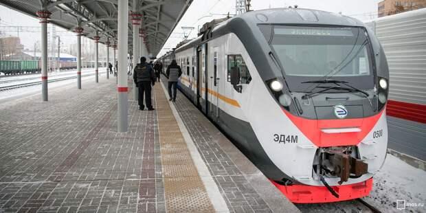 Мартовское расписание поездов от «Стрешнево» скорректировали