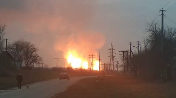 В ДНР произошел теракт на газопроводе