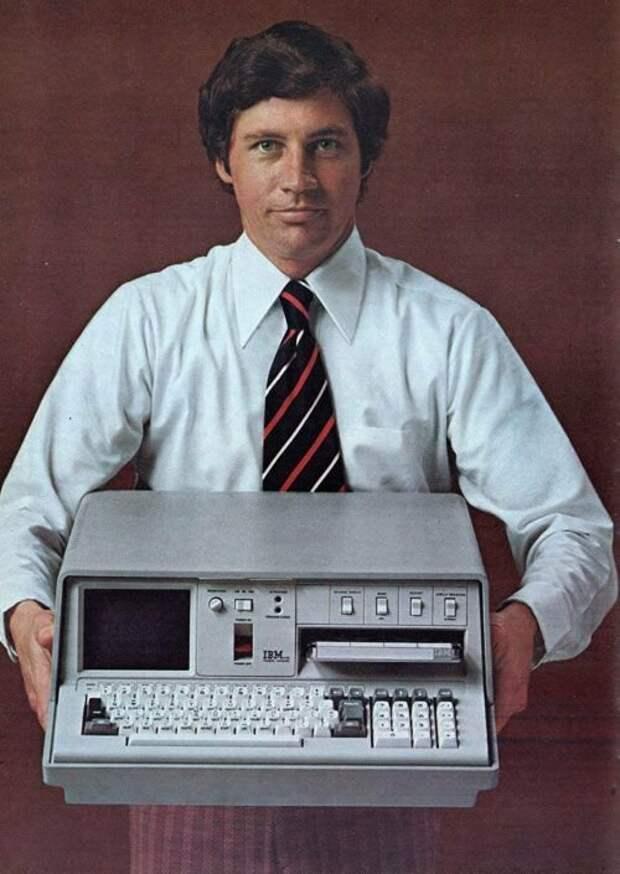 Портативный компьютер IBM 5100 образца 1975г. Оперативка целых 16 килобайт. США. интересно, история, фото