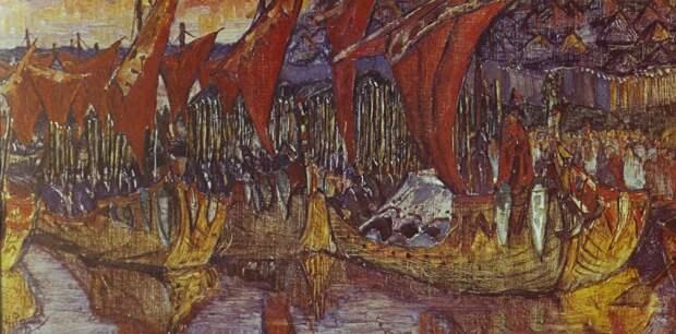 Крещение Новгородского князя Бравлина.