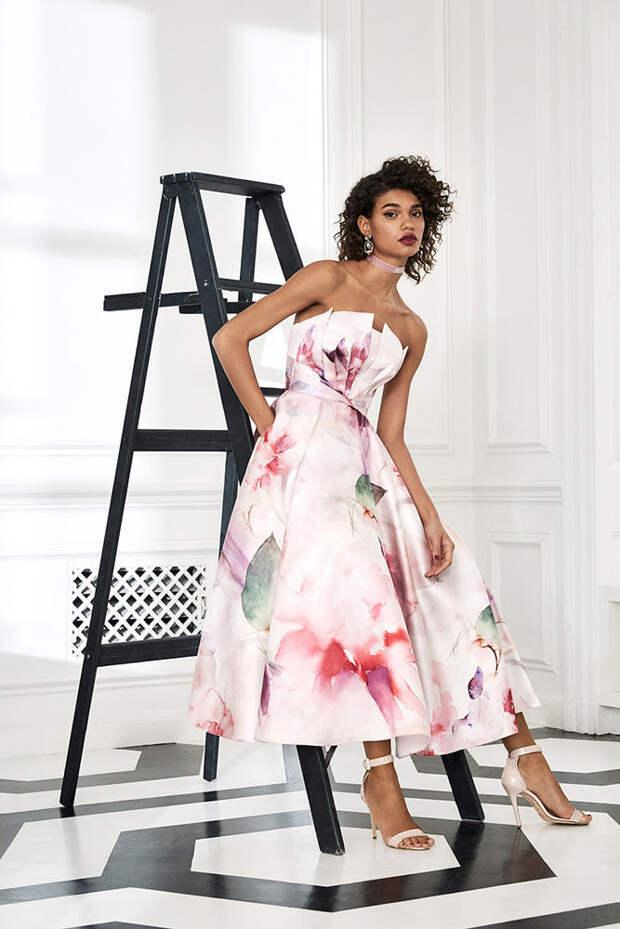 Маркиза драмы: модная коллекция Marchesa Notte осень 2019, фото № 4