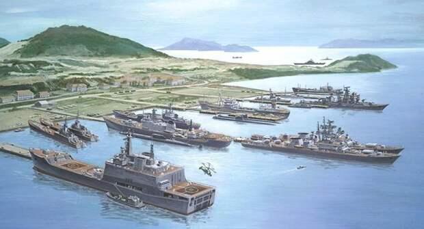 Военная база Камрань и советский флот, 1985 год