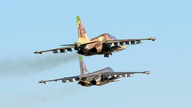 Эскадрилья штурмовиков Су-25 перебазировалась из Ставрополья на крымские аэродромы