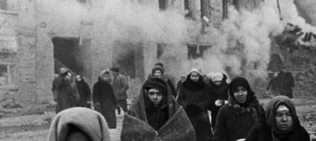 Германия разделила блокадников Ленинграда на «любимых» и «нелюбимых»