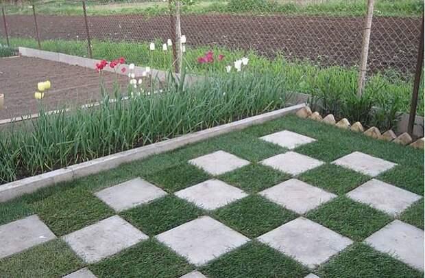 Отличная идея для двора или дачи!