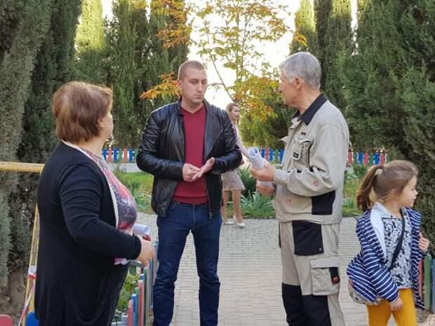 «Самый дружный двор» Севастополя