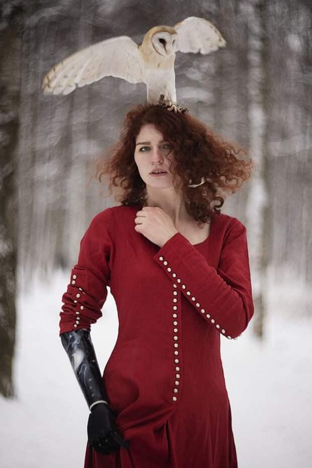 Огненная красота рыжих на портретах питерского фотографа Александры Бочкаревой
