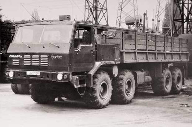 КрАЗ: необычные автомобили Кременчугского завода