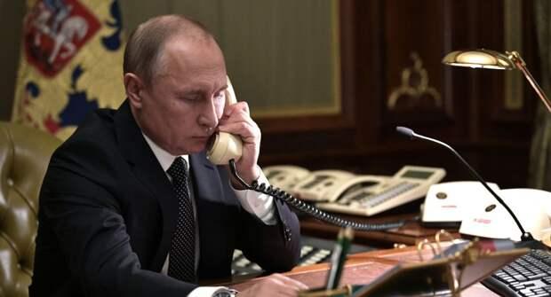"""Зеленский позвонил Путину перед встречей в """"нормандском формате"""""""