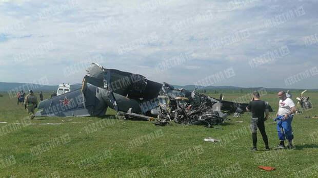 Дело возбудили по факту крушения самолета в Кузбассе
