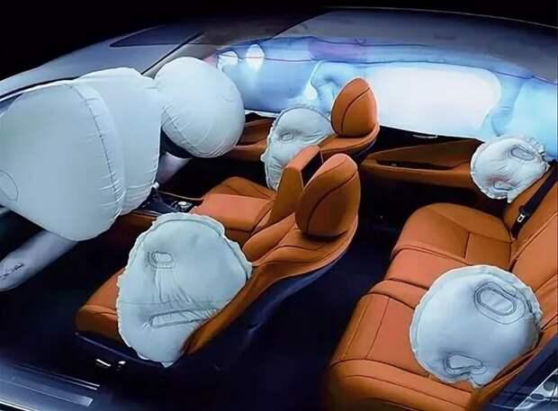 Пассажирские автобусы будут снабжаться подушками безопасности