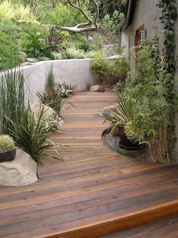 Как сделать садовые дорожки на даче своими руками
