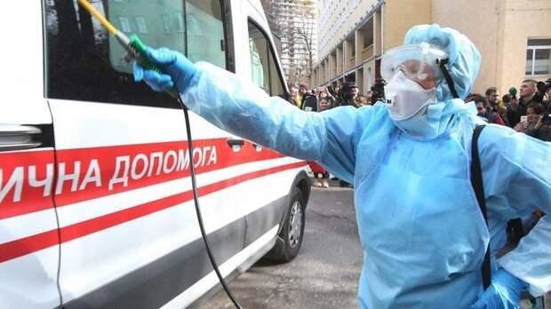 На Украине удвоилось количество зараженных коронавирусом