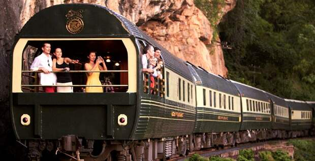 Один из самых респектабельных в мире поездов. /Фото: rcrusoe.com