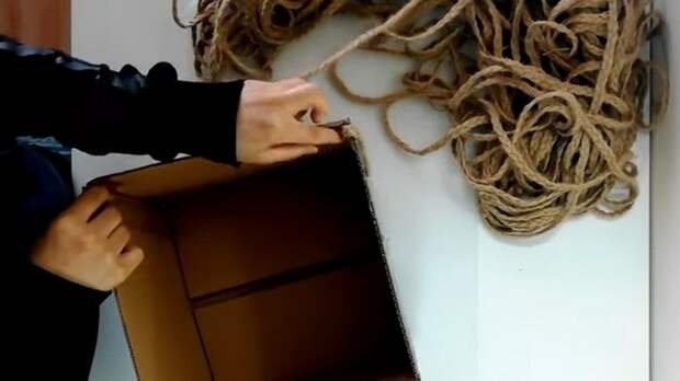Полезно и красиво! Интересный и стильный способ плетения джутовой веревкой