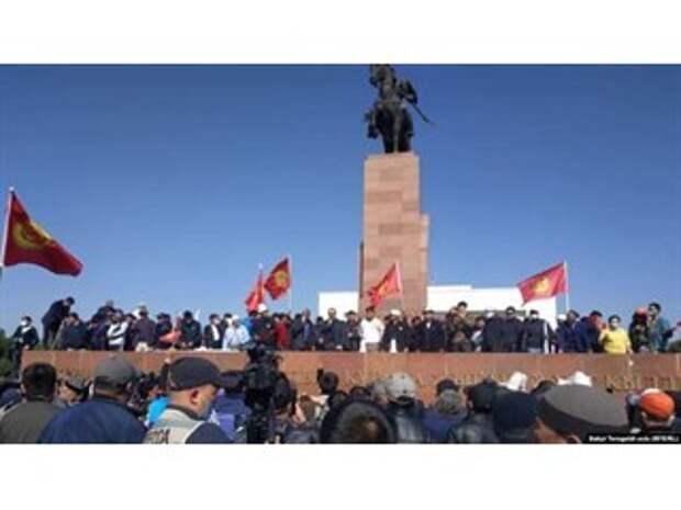 В Киргизии начался свой Майдан