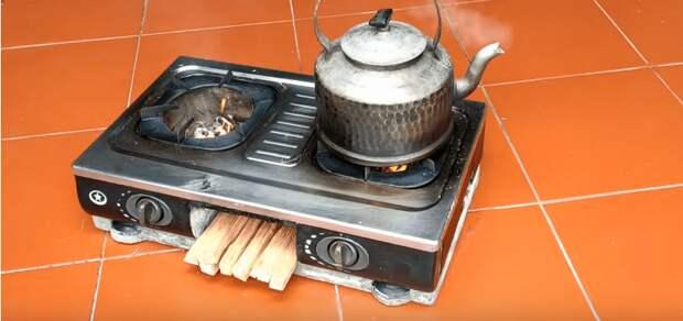 Как из нерабочей плиты сделать плиту-мангал для участка