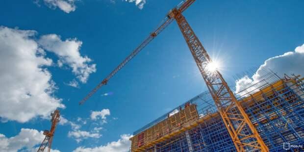 На Берзарина завершено строительство двух жилых домов