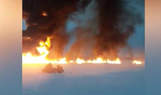 По словам экспертов, после выпуска газа на Оби ущерба природе не нанесено