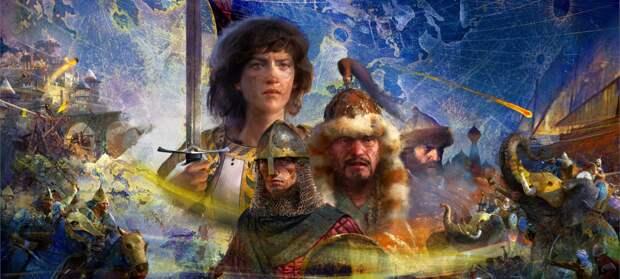 Столетняя война и Жанна д'Арк в новом тизере Age of Empires 4