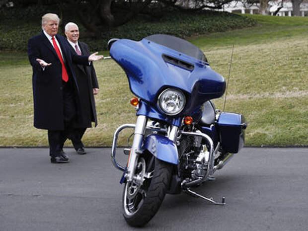 Harley-Davidson переносит часть производства из США. Трамп взбешен!