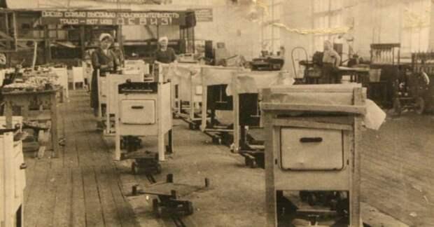 Массовое советское производство плит, 1950-е всячина, интересное, история, кухня, плита, факты