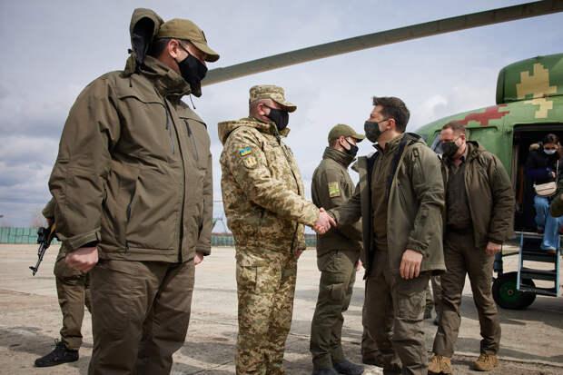 Зеленский прибыл в Донбасс на фоне эскалации конфликта