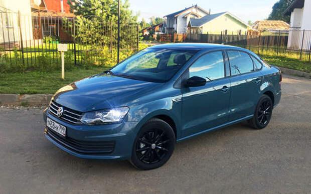 Volkswagen Polo седан — начинаем длительный тест