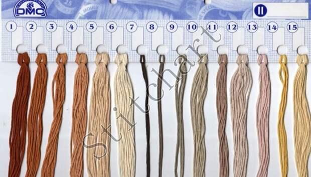 Вышивка «Грибы»