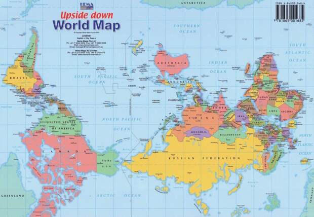 worldmaps05 Карты мира—как они выглядят в разных странах