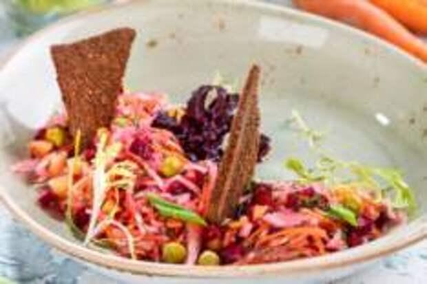 Весеннее, Овощное – Винегрет с квашеной капустой