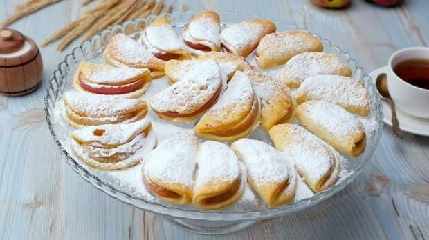 Творожные печенья с яблоками. Лакомство без вреда для фигуры, низкокалорийные печенья на каждый день 2