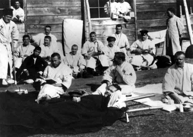 Русские военнопленные в Японии. 1905 год