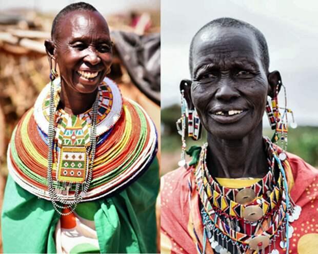 Женщины племени Самбуру, Кения