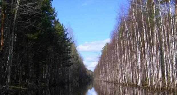 Ob enisejskij kanal. vodnyij put drevnej sibiri