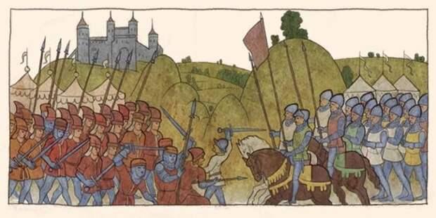 Султан Баязид I и крестоносцы