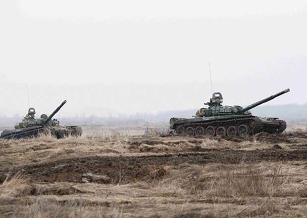 Тактико-огневыми упражнениями стрельб закончилась контрольная проверка у танкистов армейского корпуса Балтийского флота