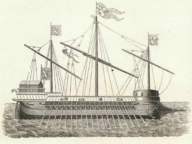 Галеас, 1571 год. sites.google.com - Схватка за Лигурию | Warspot.ru