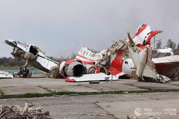 Очень хотелось найти - нашли! Польская комиссия обнаружила следы взрывчатки на обломках Ту-154 Качиньского спустя 8 лет
