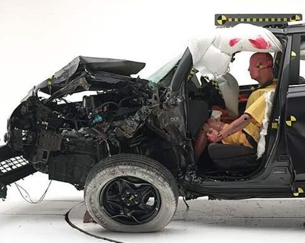 Toyota RAV4 реабилитировался в краш-тесте с малым перекрытием
