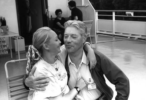 Наталья Гвоздикова и Евгени й Жариков