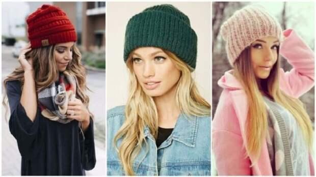 Модные шапки-бини. \ Фото: nalivka.net.
