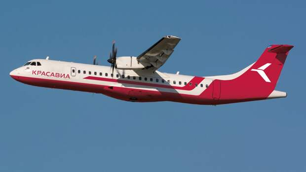 «Красавиа» приобрела два самолета ATR-72-500 за 1,2 млрд рублей