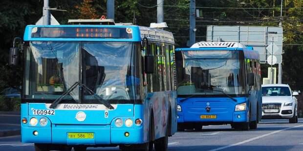 Проходящий через Бабушкинский автобус №174 будет отменен с 31 июля