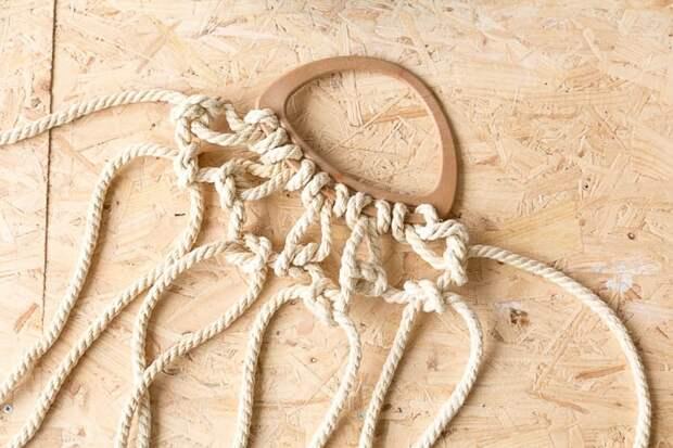 Авоська на море (DIY)